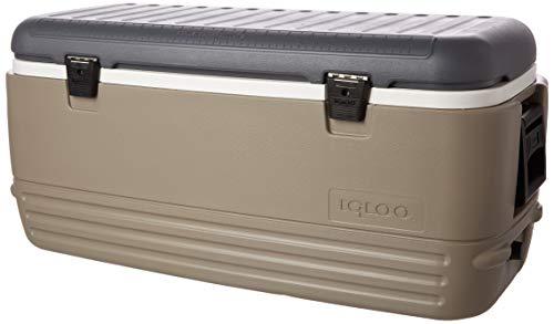Igloo Sportsman 120Qt Rugged Ice Retention Cooler, Sandstone