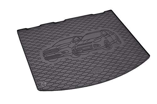 Passgenaue Kofferraumwanne geeignet für Ford Kuga ab 2013 + Autoschoner MONTEUR