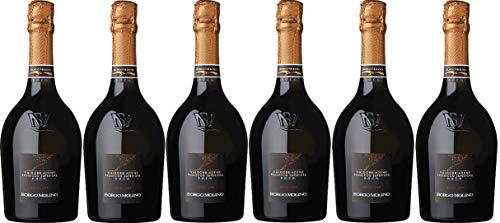 Borgo Molino Prosecco Superiore extra dry Prosecco (6 x 0.75 l)
