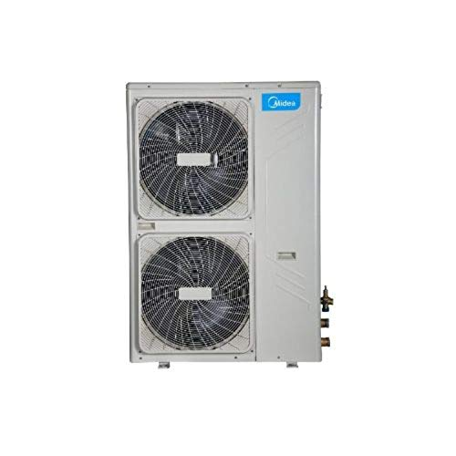 Unidad interior climatizadora, fancoil suelo/techo, modelo MKH3-V500, 21,2 x 95 x 54,5 cm, color blanco (Ref: MKH3-V500), 40 x 97 x 132,7 cm, color gris (Ref: MGC-V12W/D2N1)
