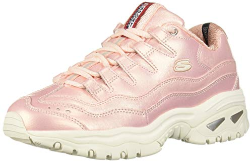 Skechers Damen Energy-Glacier Views Sneaker, Pink, 38 EU