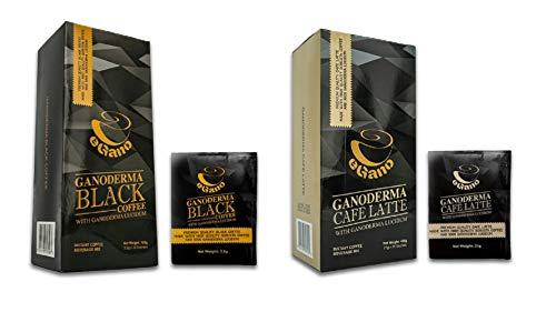 eGano - Ganoderma Black Coffee (3,5 g x 30 sobres