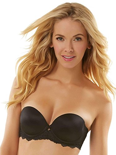 Jezebel Women's Caress Too Gel Strapless, Black, 34B