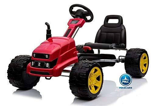 PEKECARS Kart a Pedales Case III Style Rojo