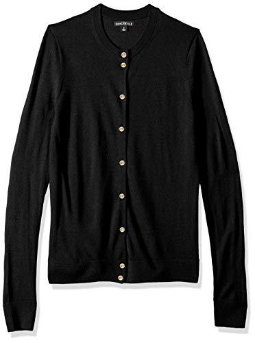 J.Crew Mercantile Women's Merino Wool Cardigan, Black, XS