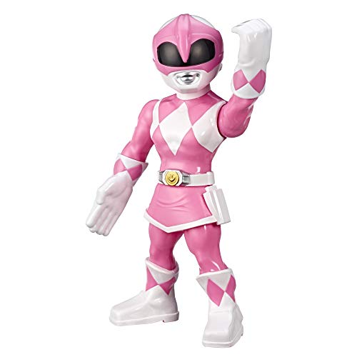 Power Rangers Playskool Heroes Mega Mighties Mighty Morphin Pink Ranger 10-inch Figure, Collectible Toys, Kids Ages 3 and Up