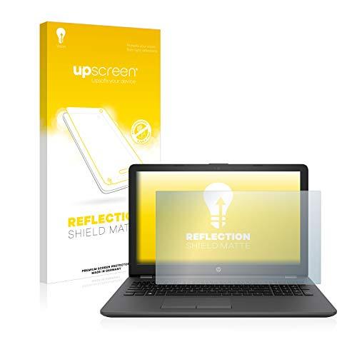 upscreen Entspiegelungs-Schutzfolie kompatibel mit HP 250 G6 – Anti-Reflex Bildschirmschutz-Folie Matt