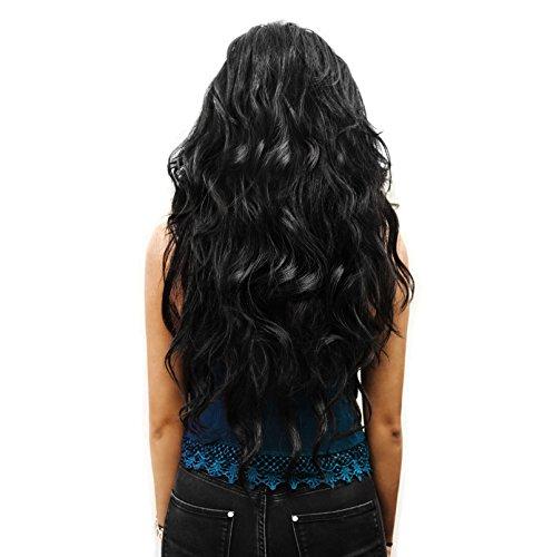 Extensión cabello Clip-In marron Set 7 Extensiónes