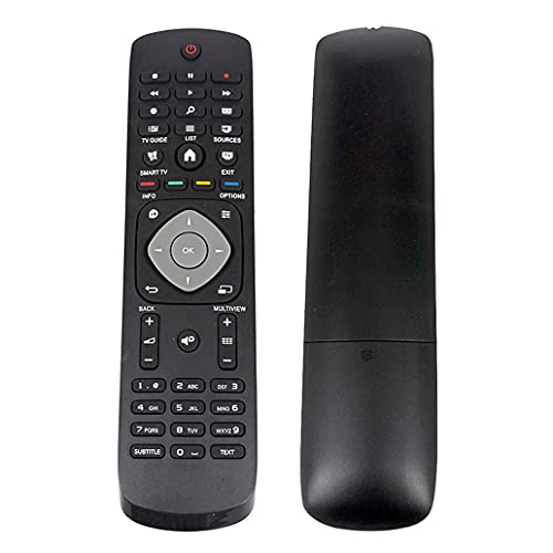 HUYANJUN HYJ-RC, Control Remoto Apto for Philips Control Smart TV 55 PUS6452 / 12 49PUS6031S / 12 43PUS6031S / 12 49PFS4132 / 12 49PFS4131 / 12 43PFS4132 / 12 Control Remoto