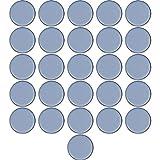 Filzada® 26x Almohadillas de Teflón para Muebles autoadhesivo - Ø 40 mm (redondo) - Deslizadores profesionales de muebles/deslizadores de alfombras PTFE (Teflón)