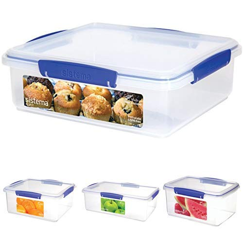 Sistema Klip It Multi-Use Large Food Storage Container Set, 8-Piece