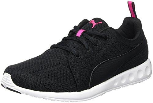 Puma Puma Carson Mesh Wn's, Damen Laufschuhe, Schwarz (Black-Pink Glo 03), 38 EU (5 UK)