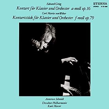 Grieg: Klavierkonzert / Weber: Konzertstück