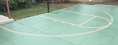 Easy Court Premium Basketball Court Marking Stencil Kit