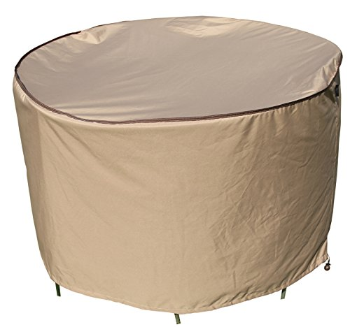 SORARA Round Table and Chair Set Cover Outdoor Porch Furniture Cover, Water Proof, All Weather Protection, 60'' Dia.