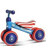 Hokaime Baby Balance Bike Walker Kids Ride con Regalo de Juguete para niños de...
