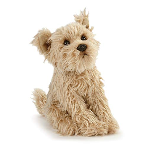DEMDACO Chorkie Mix Rescue Breed Dog Soft Brown 10 inch Plush Fabric Stuffed Figure Toy