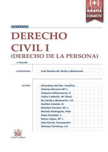 Derecho Civil I (Derecho de la Persona) 2ª Edición 2016 (Manuales de Derecho Civil y Mercantil)