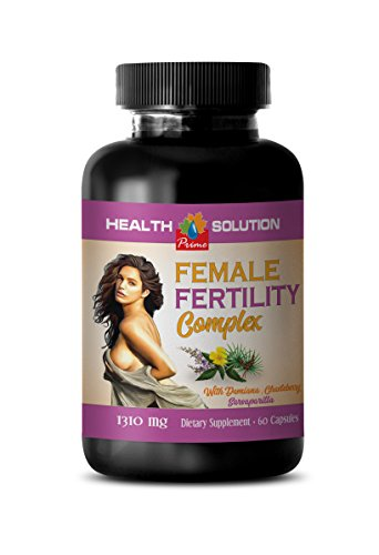 Fertility Supplements for Women Best Seller - Female Fertility Complex - folic Acid Capsules - 1 Bottle 60 Capsules