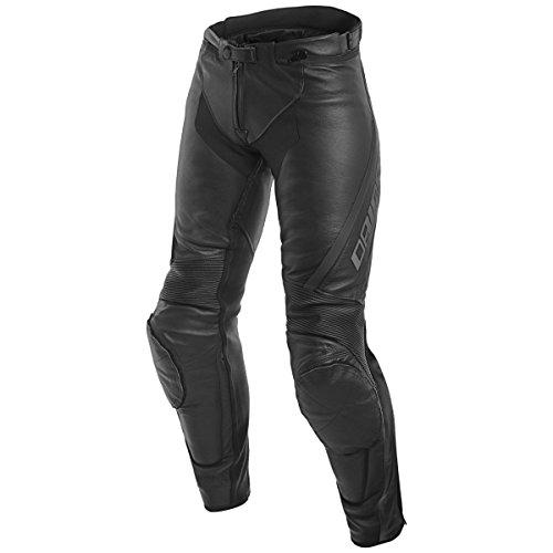 Dainese Assen Mujer Piel Moto Pantalones Negro/Antracita 40 Euro
