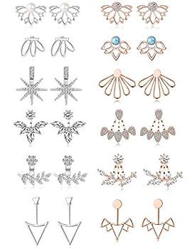 two piece earrings