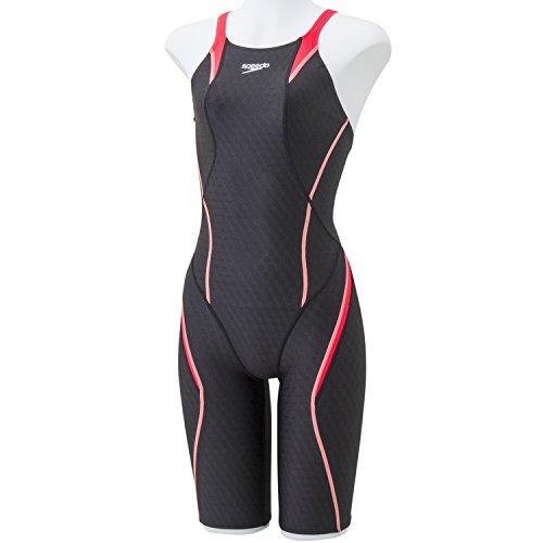Speedo(スピード) レディース 競泳水着 スパッツスーツ フレックスキューブ SD46H03 フラッシュピンク O