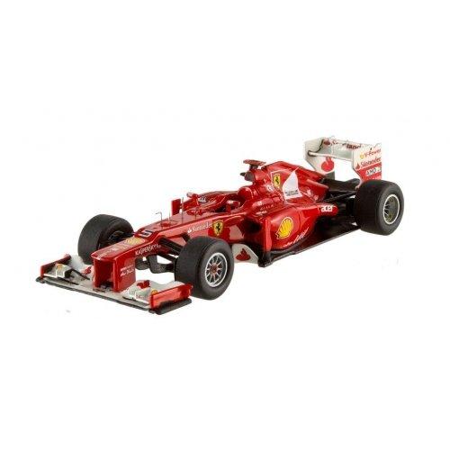 Hotwheels - Elite (Mattel) - X5512 - Véhicule Miniature - Modèle À L'Échelle - Ferrari F1 2012 - F, Alonso - Echelle 1/43