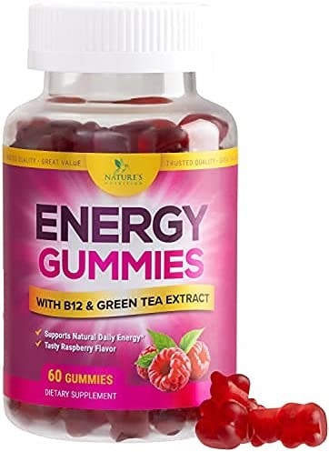 Energy Gummies Natural Raspberry Flavor Sale SALE% OFF Gummy Vitamin B12 with sold out