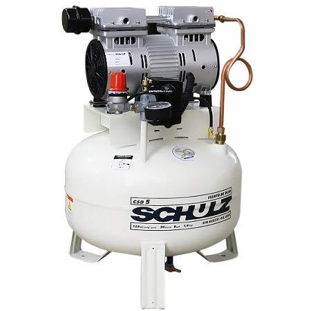 SCHULZ AIR COMPRESSOR OILLESS CSD/9 1.5 HP 9 CFM