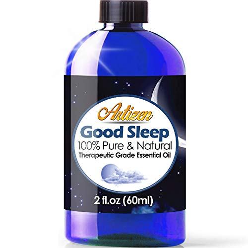 2oz - Artizen Good Sleep Essential Oil (100% Pure & Natural - UNDILUTED) Therapeutic Grade - Huge 2 Ounce Bottle - Perfect for Aromatherapy