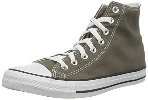 Converse Chuck Taylor All Star Hi Top, Zapatillas Unisex Adulto, Gris (Charcoal), 39 EU