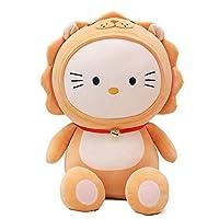bbhh straccio per bambola di peluchecreativo cat doll simpatici giocattoli di peluche bambole per bambini per i regali di compleanno della fidanzata-giallo_60 cmbambola regalo peluche