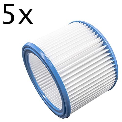 vhbw Set de filtros 5x Filtro plisado