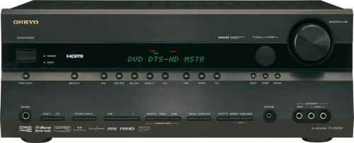 Onkyo TX SR 606 7.1 AV-Receiver (HDMI, TrueHD, DTS-HD) schwarz