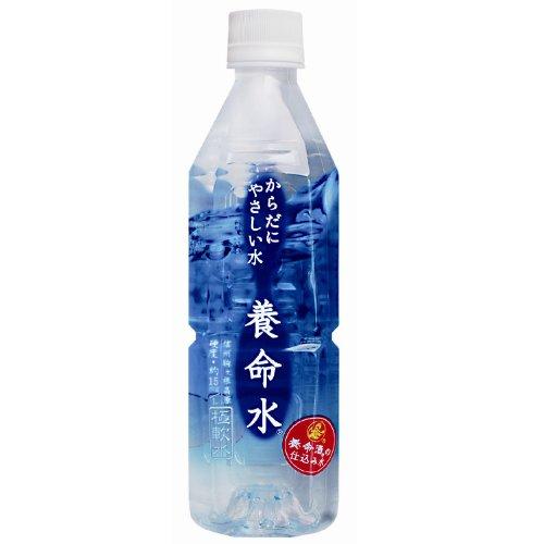 養命酒製造 養命水 からだにやさしい水 ペット 500ml×24本