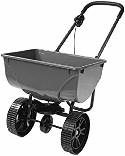 Precision SB4300P 75-Pound Broadcast Spreader with 10-Inch Pneumatic Wheels