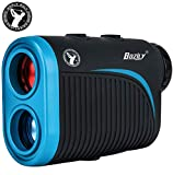 Bozily Télémètre Golf, 1200 Yards 6X Laser Rangefinder Grossissement avec Technique de Pente, Verrouillage du Drapeau, Balayage Continu, USB Chargement
