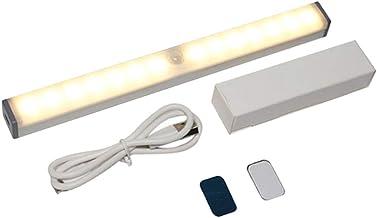Luz do armário luz recarregável sem fio luzes da noite sob luz contrária led sensor de movimento barra de tira de luz da n...