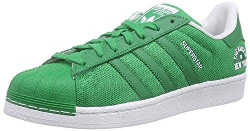 adidas Superstar Beckenbauer Pack - Zapatillas para Hombre, Color Verde/Blanco, Talla 36
