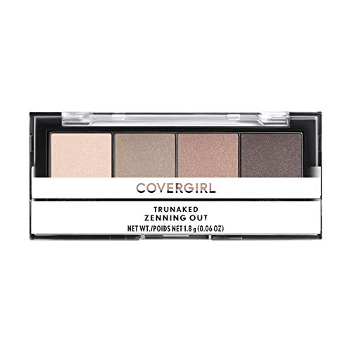 COVERGIRL COVERGIRL Trunaked Quad Eyeshadow Palette Zenning Out Zenning Out 006 Ounce