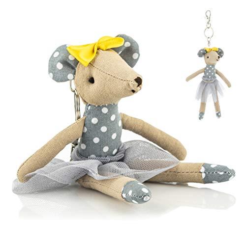 Stuffed Animal Plush Keychain