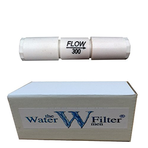 Reverse Osmosis Inline Flow Restictor for RO Membrane (300ml Flow Restrictor) by The Water Filter Men