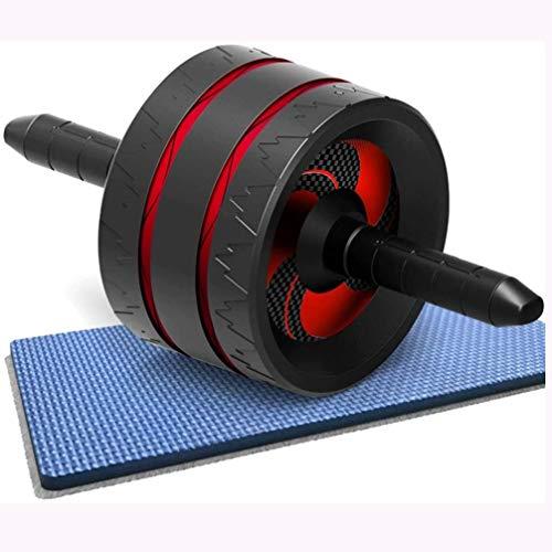 Rindasr Abdominale wiel, antislip PP-materiaal handvat, de hoge elastische rubberen TPR-wiel, draagbare fitnessapparatuur voor mannen en vrouwen