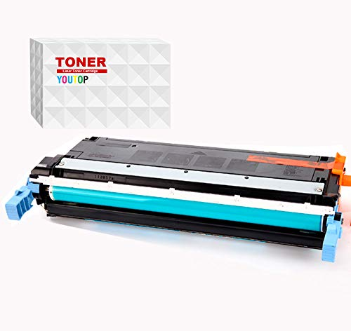 1 cartucho de tóner láser amarillo C9732 compatible con HP C9732 C9732A compatible con Laserjet 5500 5550 páginas