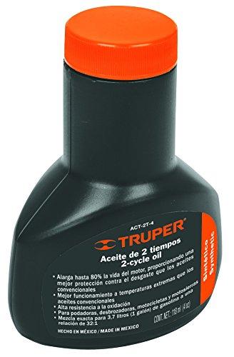 Truper ACT-2T-4, Aceites sintéticos para motor de 2 tiempos 118 ml (4 oz)