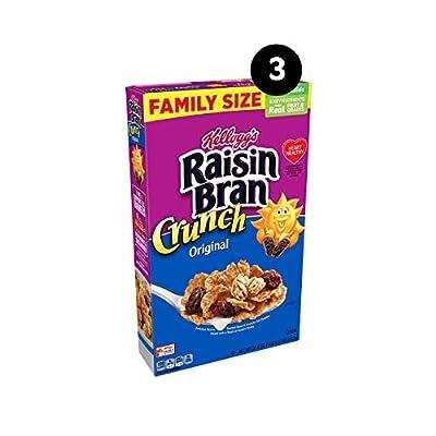 Kellogg's Raisin Bran Crunch Breakfast Cereal, Original, 67.5 Oz