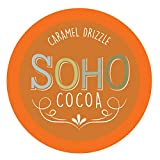 Soho Caramel Drizzle Hot Chocolate Pods for Keurig K-Cup Brewers, 100 Count