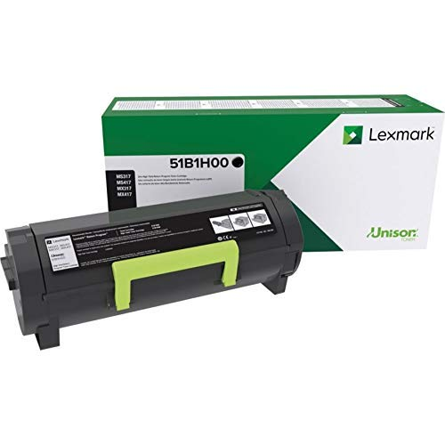 Lexmark 51B1H00 MS417dn MX417de MS517dn MX517de MS617dn MX617de High Yield Return Program Cartridge Toner,Black Photo #3