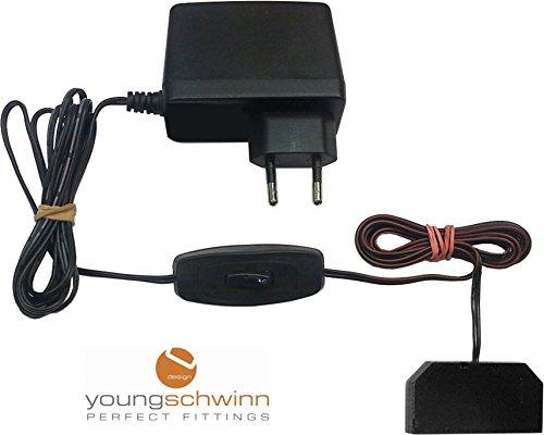 Câble d'alimentation pour lampes LED, avec interrupteur manuel, transformateur avec interrupteur à main, bloc d'alimentation.