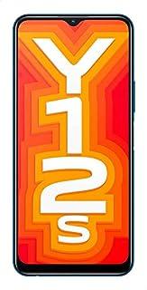 Vivo Y12s Dual SIM Mobile Phone, 6.51 Inch, 3 GB RAM, 32 GB, 4G LTE - Phantom Black